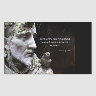 Saint Francis of Assisi and Bird Quote
