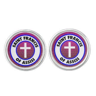 Saint Francis of Assisi Cufflinks