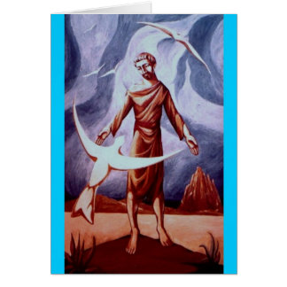 Saint Francis of Assisi Greeting Card