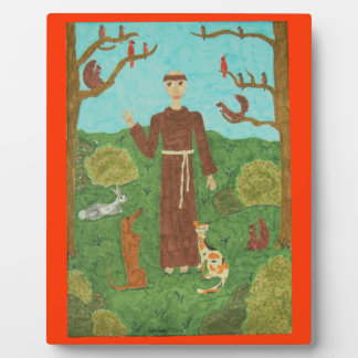 Saint Francis of Assisi Plaque