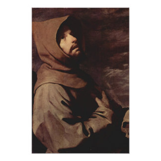Saint Francis of Assisi Poster