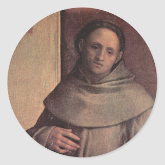 Saint Francis of Assisi Round Sticker