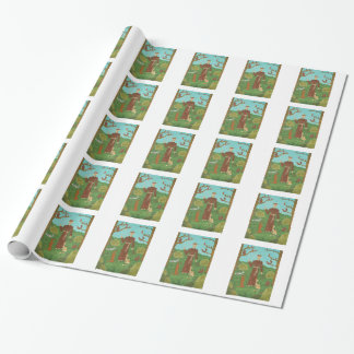 Saint Francis of Assisi Wrapping Paper