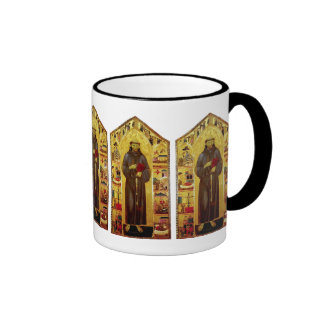 Saint Francis of Assissi Medieval Iconography Mugs