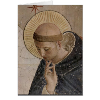 Saint Francis with Head Bowed Card