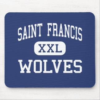 Saint Francis - Wolves - Catholic - Gainesville Mouse Pad