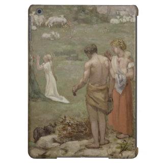 Saint Genevieve as Child in Prayer by Puvis iPad Air Case