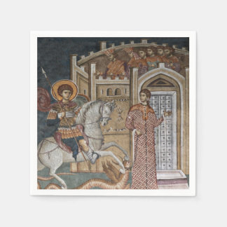 Saint George by the Castle Paper Napkins
