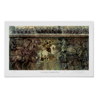 Saint George / Equestrian Series Poster