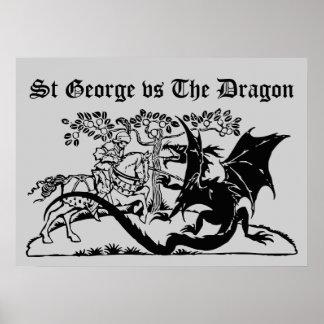 Saint George & The Dragon Poster
