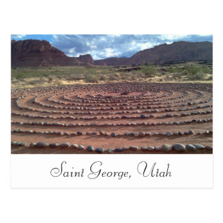Saint George, Utah Postcard