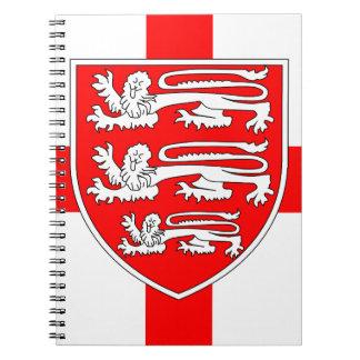 Saint Georges Day Spiral Notebook