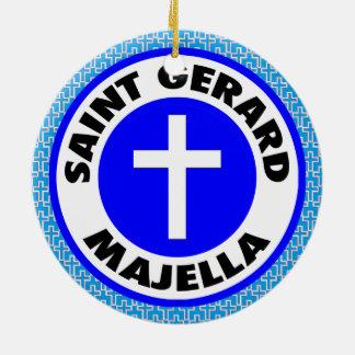 Saint Gerard Majella Ceramic Ornament