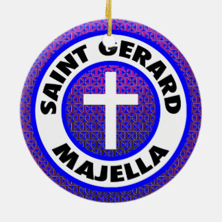 Saint Gerard Majella Ceramic Ornament