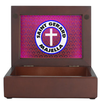 Saint Gerard Majella Keepsake Box
