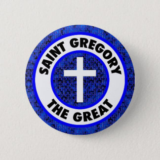 Saint Gregory the Great 2 Inch Round Button