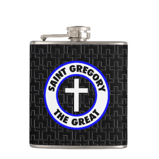 Saint Gregory the Great Hip Flask