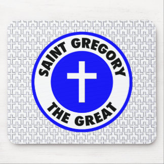 Saint Gregory the Great Mouse Pad