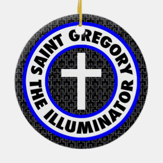 Saint Gregory the Illuminator Ceramic Ornament