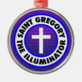 Saint Gregory the Illuminator Metal Ornament
