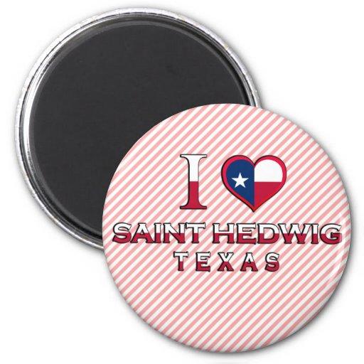 Saint Hedwig, Texas Magnet
