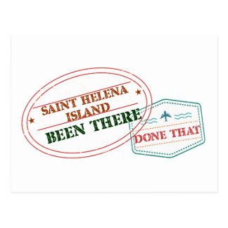 Saint Helena Island Been There Done That Postcard