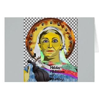Saint Hilda of Whitby Card