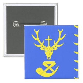 Saint-Hubert, Belgium, Belgium flag Pinback Button