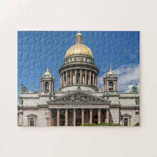 Saint Isaac's Cathedral in Saint Petersburg Russia Jigsaw Puzzle