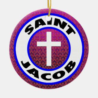 Saint Jacob Ceramic Ornament