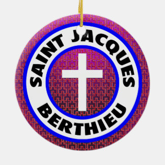 Saint Jacques Berthieu Ceramic Ornament