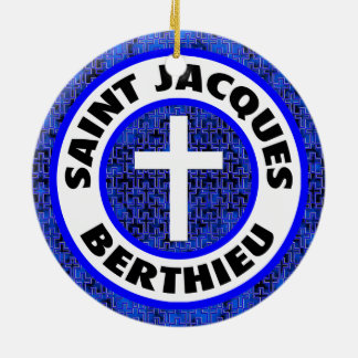 Saint Jacques Berthieu Ceramic Ornament