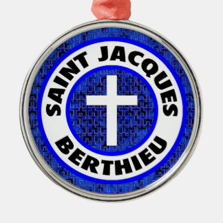 Saint Jacques Berthieu Metal Ornament