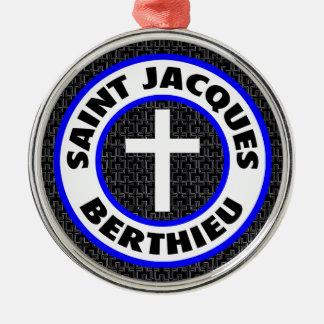 Saint Jacques Berthieu Metal Ornament