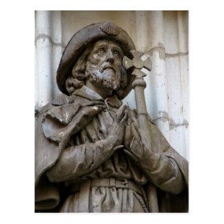 Saint James in Seville Postcard