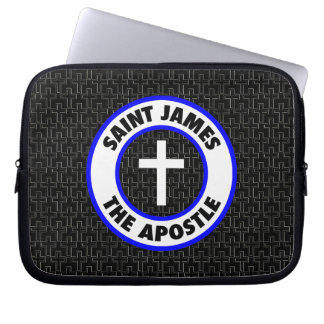 Saint James the Apostle Laptop Sleeve