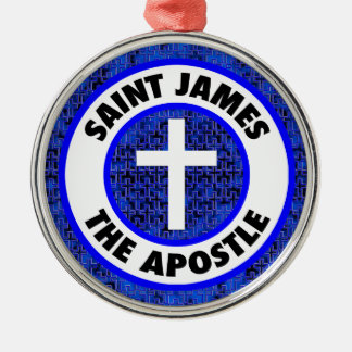 Saint James the Apostle Metal Ornament