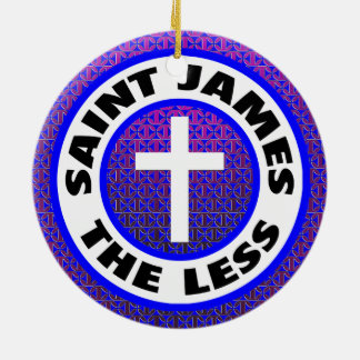 Saint James the Less Ceramic Ornament