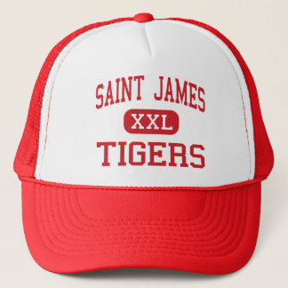 Saint James - Tigers - Middle - Saint James Trucker Hat