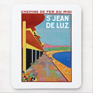 Saint Jean de Luz Mouse Pad