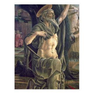 Saint Jerome, c.1470 Postcard