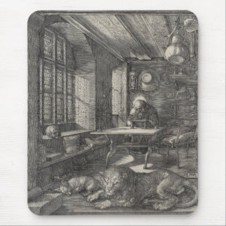 Saint Jerome in His Study by Albrecht Durer Mouse Pad