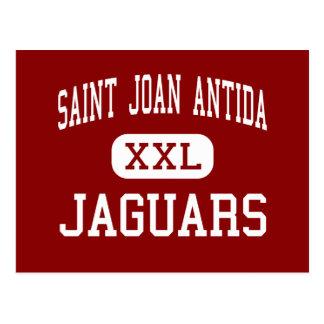 Saint Joan Antida - Jaguars - High - Milwaukee Postcard