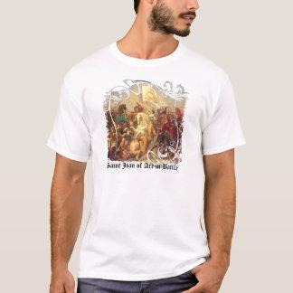 Saint Joan of Arc in Battle Men's Light T-Shirt