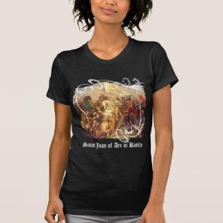 Saint Joan of Arc in Battle Women's Dark T-Shirt