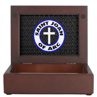 Saint Joan of Arc Keepsake Box