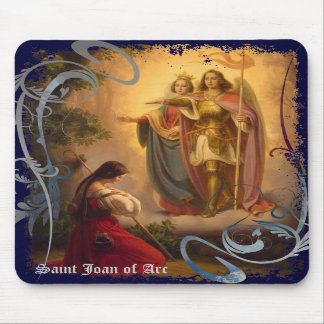 Saint Joan of Arc Mousepad