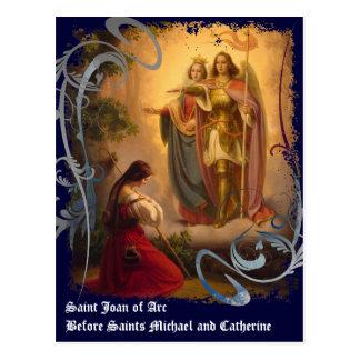 Saint Joan of Arc Postcard