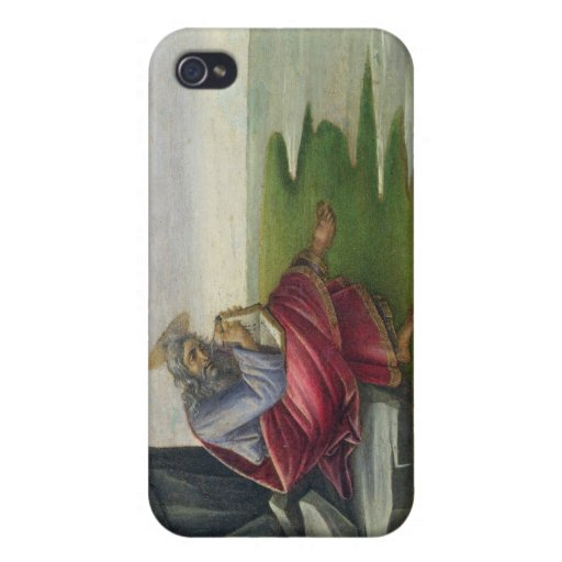 Saint John the Divine on Patmos, Writing the Book iPhone 4 Cover