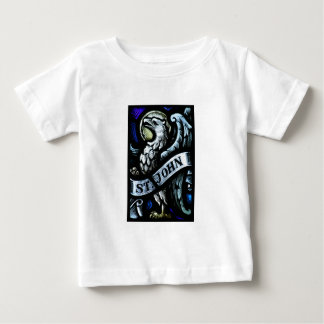 Saint John the Evangelist Stained Glass Art Baby T-Shirt
